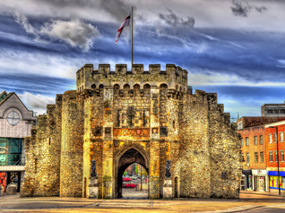 The Bargate, a medieval gatehouse in Southampton, England