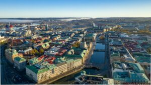 Gothenburg from the air