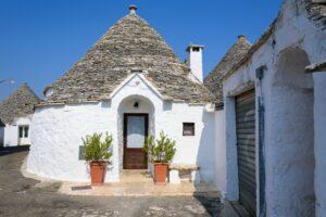 Trulli houses in Alberobello town